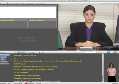 Virtual Reality Job Interview Training Projects