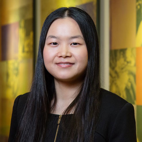 Xiaoling Xiang received an award from the Ginsberg Center for Community and Service Learning